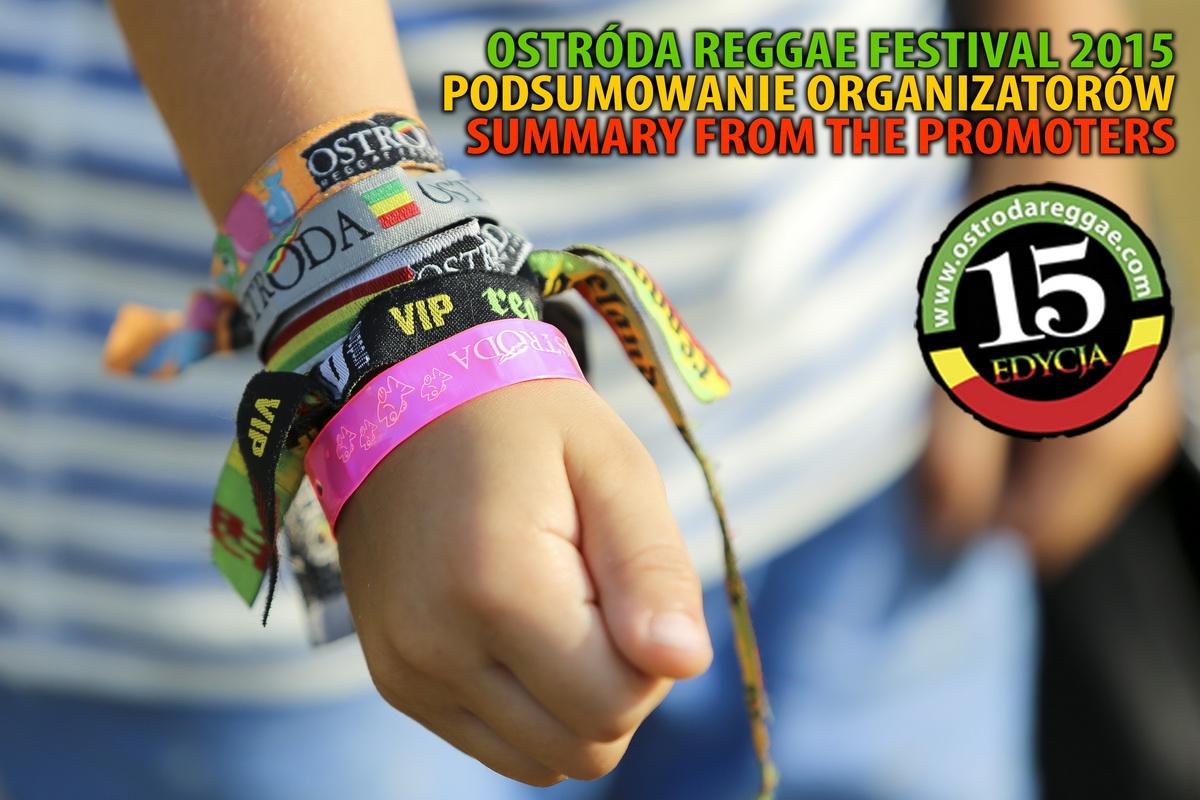 Ostróda Reggae Festival 2015 podsumowanie organizatorów