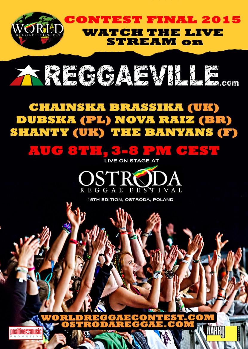 Skład jury World Reggae Contest / gdzie oglądać transmisję konkursu live