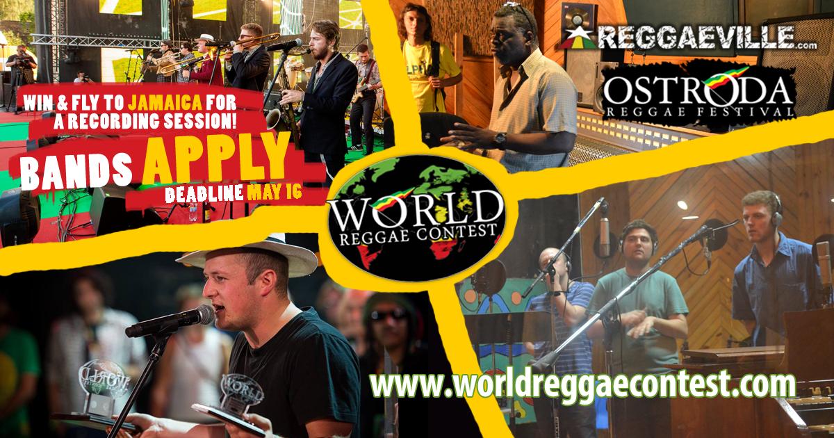 WORLD REGGAE CONTEST na Ostróda Reggae Festival 2016 – otwieramy zgłoszenia!