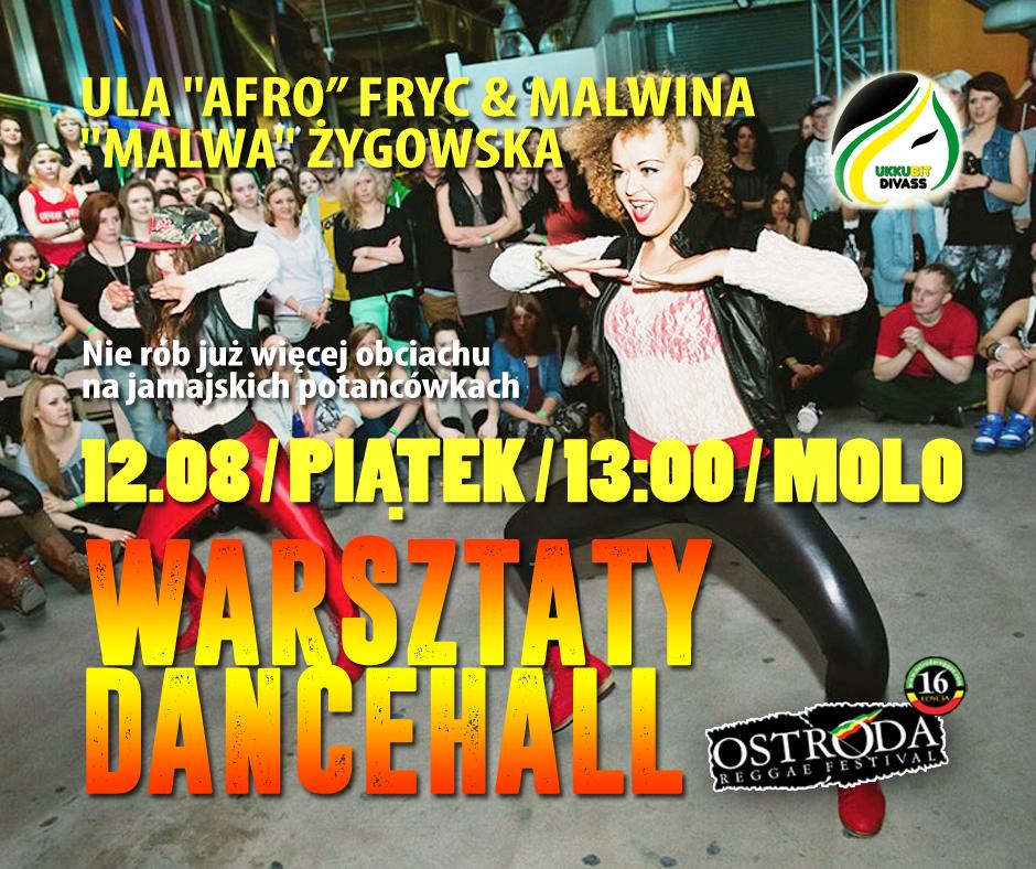 WARSZTATY TAŃCA DANCEHALL