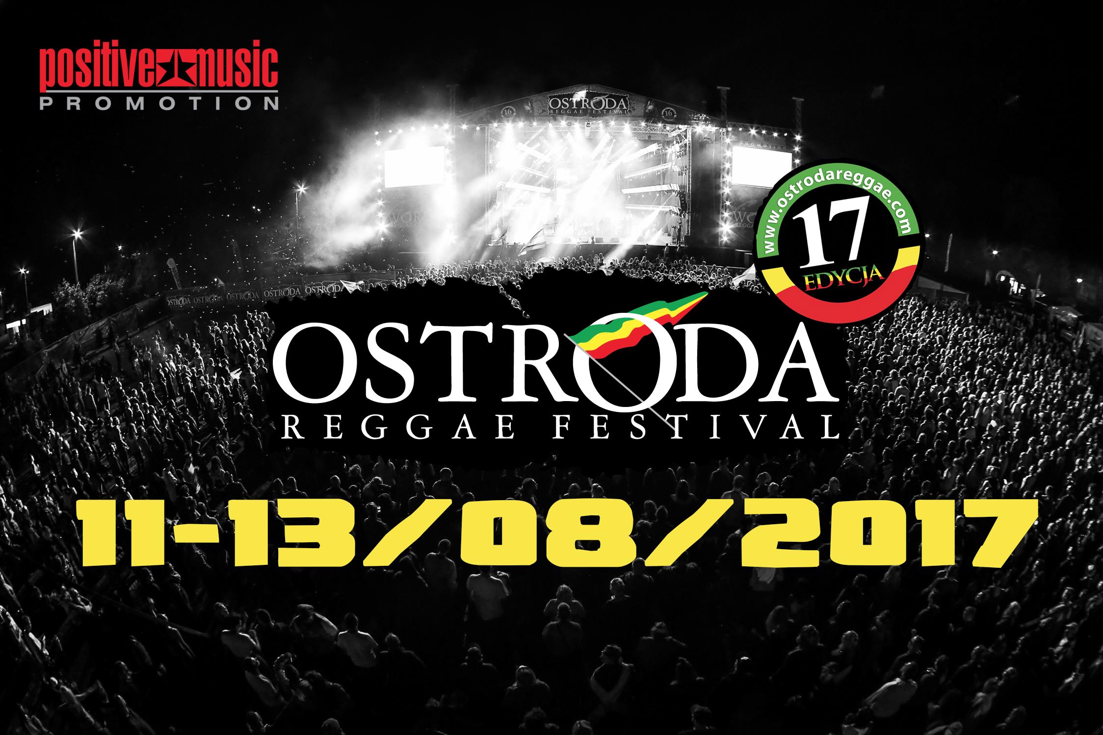 TERMIN OSTRÓDA REGGAE FESTIVAL 2017