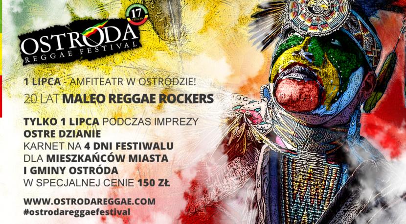 Ostre Dzianie z Maleo Reggae Rockers i tańsze karnety na ORF dla mieszkańców