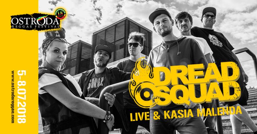 DREADSQUAD LIVE & KASIA MALENDA (Polska)