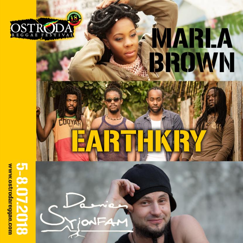 Roots Rock Reggae w Ostródzie - kolejni wykonawcy w programie!