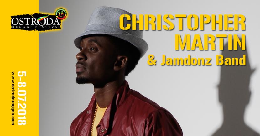 CHRISTOPHER MARTIN & JAMDONZ BAND (Jamajka)