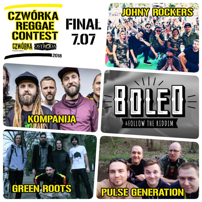 Kto wystąpi w finale Czwórka Reggae Contest?