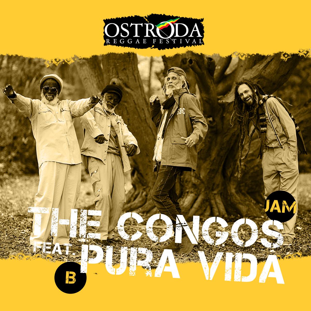 THE CONGOS feat. PURA VIDA (Jamajka/Belgia)