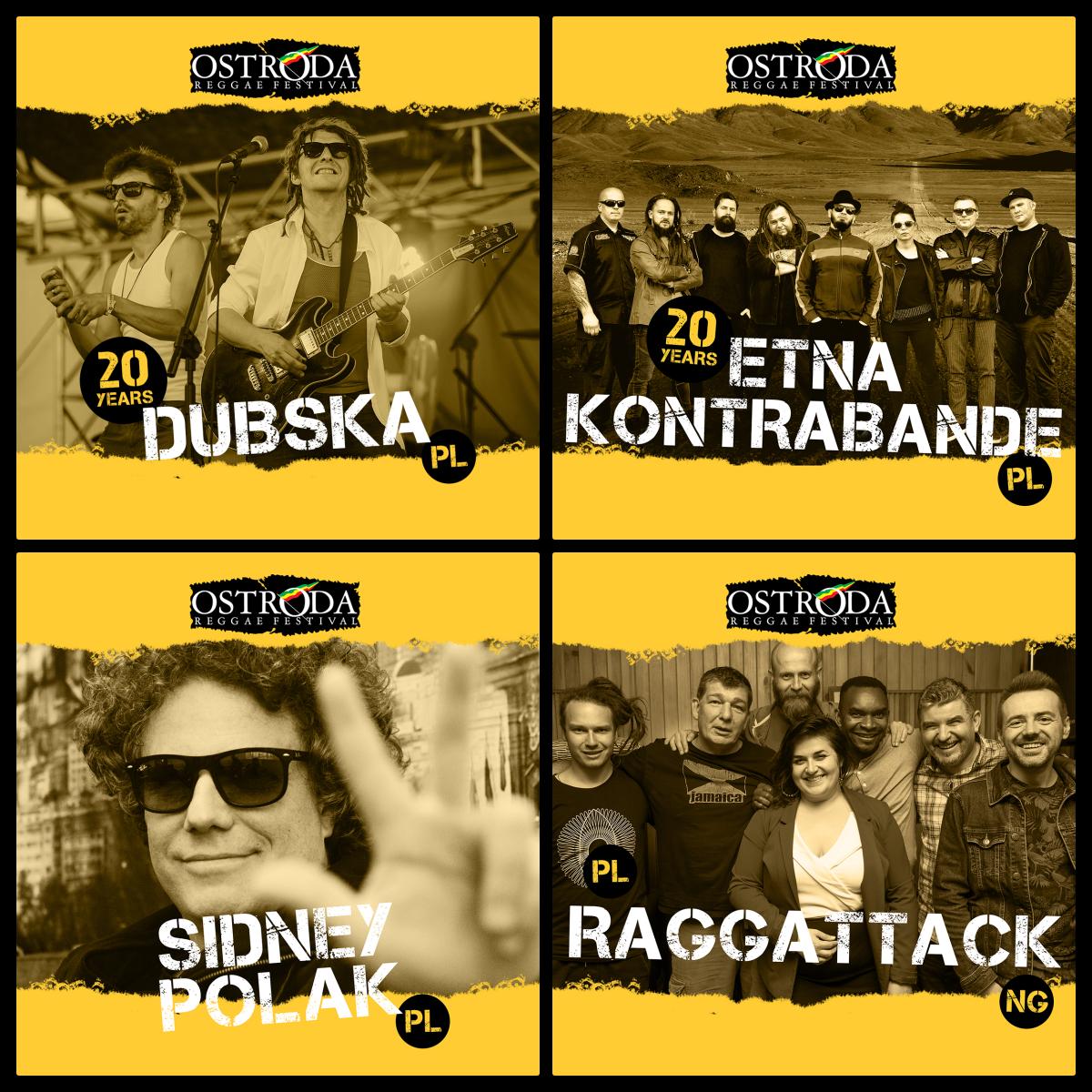 Specjalne rocznicowe koncerty polskich grup / powrót pionierskiej formacji / Sidney Polak