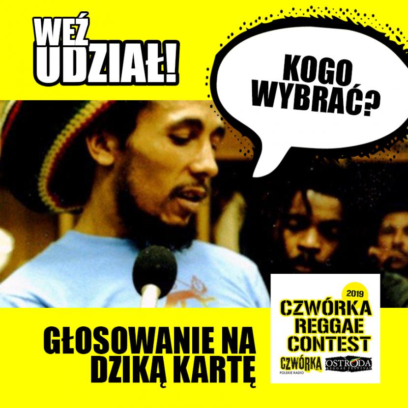 Głosuj w Czwórka Reggae Contest!