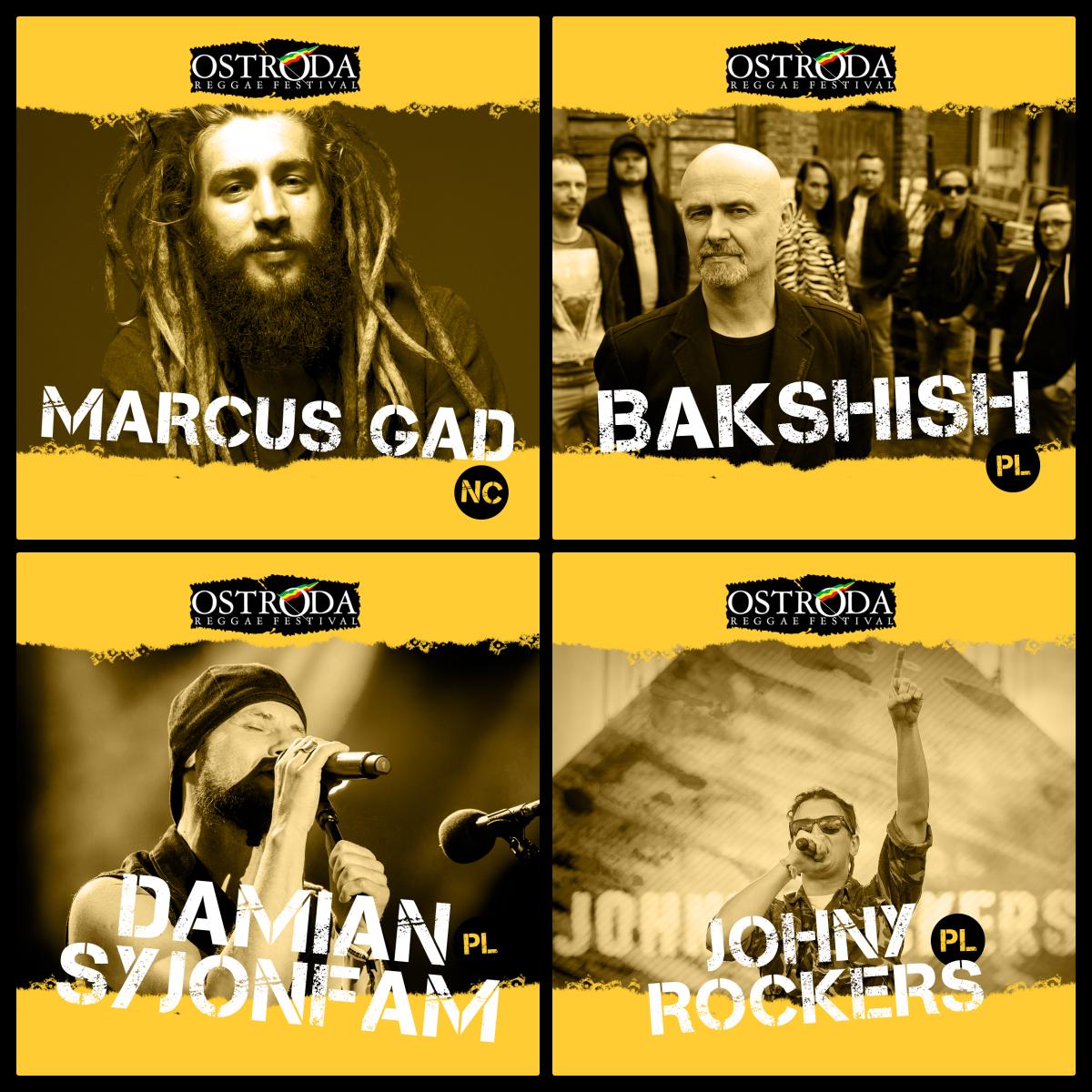 Marcus Gad i kolejni polscy artyści, finał Czwórka Reggae Contest