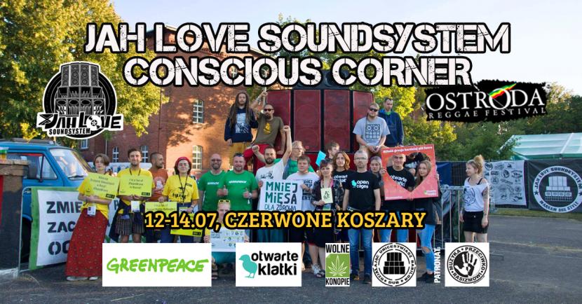 Strefa Jah Love Soundsystem Conscious Corner