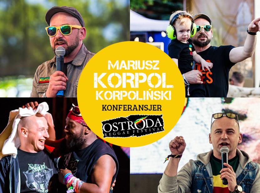"""Mariusz """"Korpol"""" Korpoliński konferansjerem ORF"""