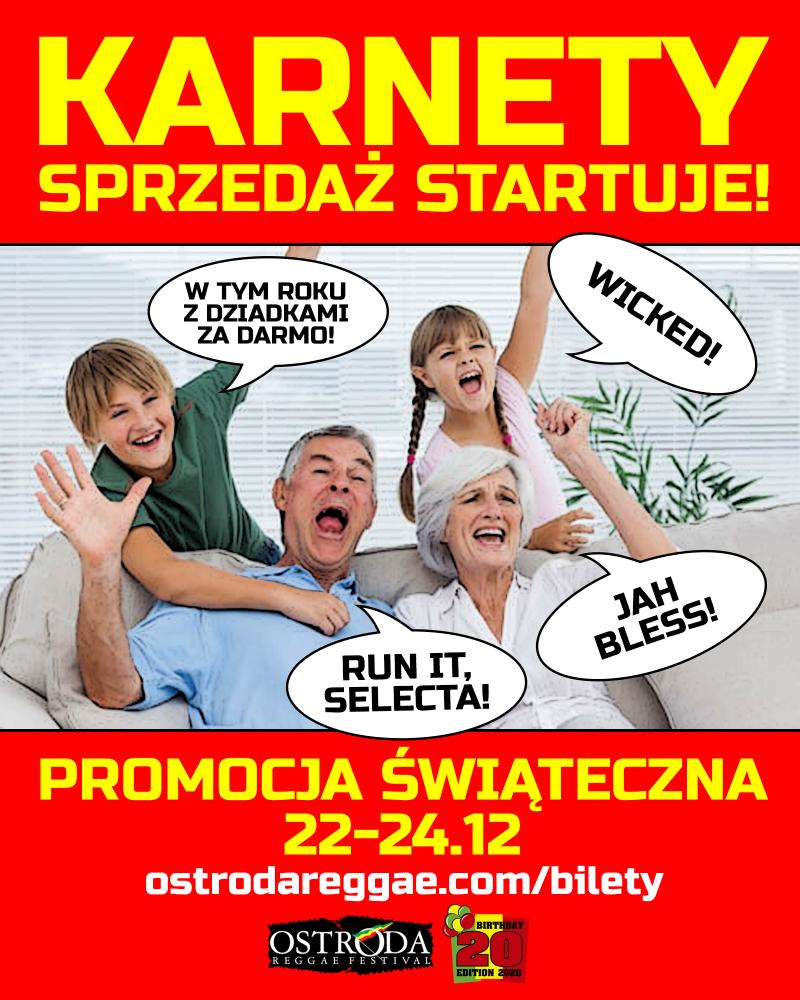 Rusza sprzedaż karnetów - promocja świąteczna!